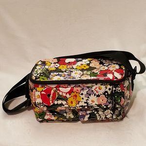Vera Bradley NWOT Insulated Lunchbag Poppy Fields